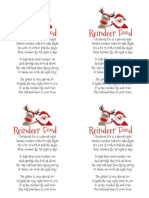 Reindeer Food Poem Written by Harvard Homemaker