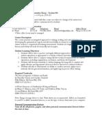 UT Dallas Syllabus for rhet1302.025 06f taught by Desiree Ward (dlw011400)
