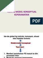 Teori Dan Model Konseptual Keperawatan