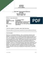 UT Dallas Syllabus for ba3361.003 06f taught by Joylynn Reed (jhr010100)