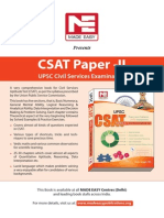 Csat Book Services Exam