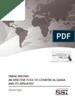 Tribal Militias- An Effective Tool to Counter Al-quaida and Its Affiliates