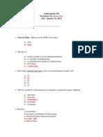Worksheet 2 Answer Key