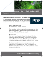 Kerr Conference Poster