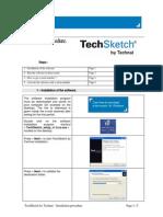 Install TechSketch