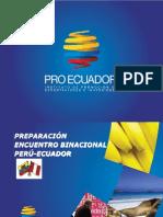 Preparación Encuentro Binacional Perú Ecuador 2013