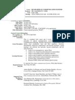 UT Dallas Syllabus for ee6310.001 06f taught by Lakshman Tamil (laxman)