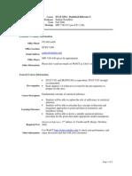 UT Dallas Syllabus for stat6331.501 06f taught by Pankaj Choudhary (pkc022000)