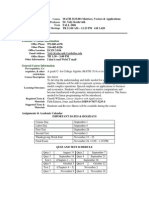 UT Dallas Syllabus for math2333.001 06f taught by Yuly Koshevnik (yxk055000)