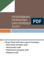 3. Penerimaan Perikatan Audit