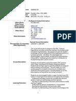 UT Dallas Syllabus for aim6354.501 06f taught by Ronald Blair (rblair)