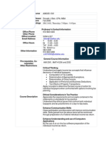 UT Dallas Syllabus for aim3351.501 06f taught by Ronald Blair (rblair)