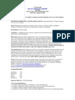 UT Dallas Syllabus for te3307.001 06f taught by Charles Bernardin (cpb021000)