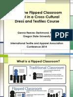 flipped classroom presentation  - itaa 2014