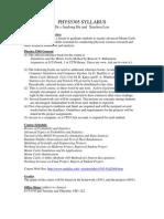 UT Dallas Syllabus for phys5305.501 06f taught by Xinchou Lou (xinchou)