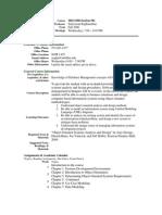 UT Dallas Syllabus for mis6308.501 06f taught by Srinivasan Raghunathan (sraghu)