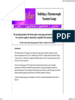 Building a Thermocouple Vacuum Gauge