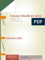 Trabajo Infantil en Lima