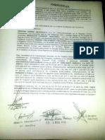 Urgimiento de La Acción de Inconstitucionalidad Exp. 768-12 Presentado El 18-11-2014