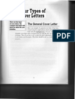 4 Types of Cover Letters