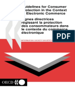 Guidelines for Consumer Protection in the Context of E-commerce