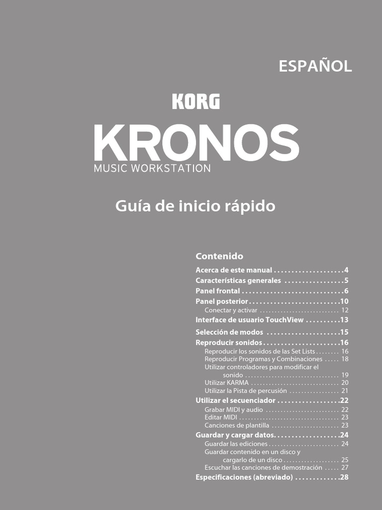 Kronos Quick Start s6