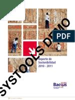 Reporte de Desarrollo Sostenible - Backus