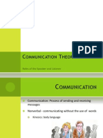 Communication Theory PowerPoint