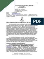 UT Dallas Syllabus for spau3301.001 05s taught by Michelle Aldridge (aldridge)