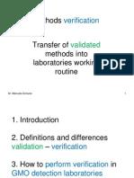 Method Verification