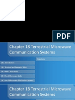 Chapter 18 Terrestrial Microwave Communication Systems