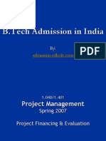 B.tech Admission in India