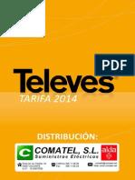 Tarifa Televes 2014