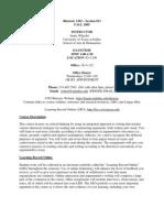 UT Dallas Syllabus for rhet1302.013 05f taught by Jamie Wheeler (jwheel)