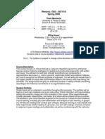 UT Dallas Syllabus for rhet1302.007 06s taught by Thomas Mackenzie (tam036000)