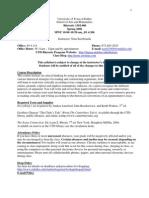 UT Dallas Syllabus for rhet1302.006 06s taught by Nina Serebrianik (nas023000)