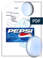 Project of Pepsi Final