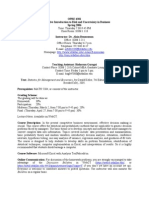 UT Dallas Syllabus for opre6301.504 06s taught by Alain Bensoussan (axb046100)