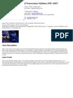 UT Dallas Syllabus for nsc4367.001 06s taught by Michael Kilgard (kilgard)