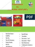 Tata's Rural marketing
