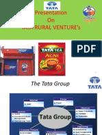 Tata's Rural Venture