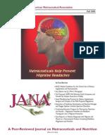 JANA Long Cytokines, Excitotoxin Autism Paper