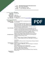 UT Dallas Syllabus for mis6204.582 06u taught by Hans-joachim Adler (hxa026000)