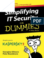 Simplifying It Security for Dummies