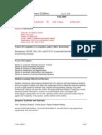 UT Dallas Syllabus for math4334.501 06f taught by Bentley Garrett (btg032000)