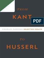 Kant Husserl