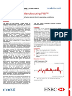 Hsbc Indonesia Manufacturing Pmi - Nov 2014