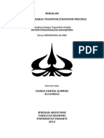 Penentuan Transfer Pricing – Saskia FAwzia Achmad 023100045
