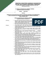 SK Kakan tentang Panitia Pelaksana Kegiatan Pengadaan Sepeda Motor T.A 2013.doc