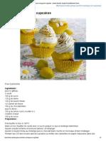Citron meringué en cupcakes _ recette illustrée, simple et facileRecette Gateau